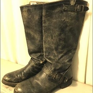 FRYE Leather Pull On Boots Size 7.5